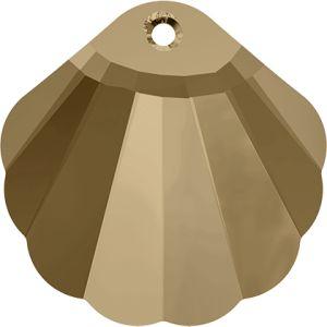 6723 MM 28,0 CRYSTAL GOL.SHADOW (Shell Pendant)