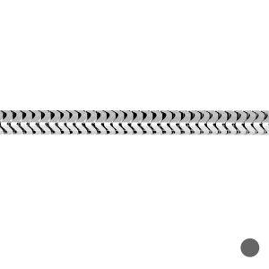 Lant la metru - sarpe flexibil*argint 925*CSTD 1,2 mm
