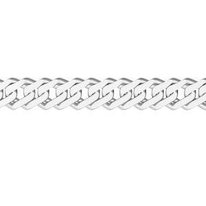 Lant la metru - rombo*argint 925*RD  60