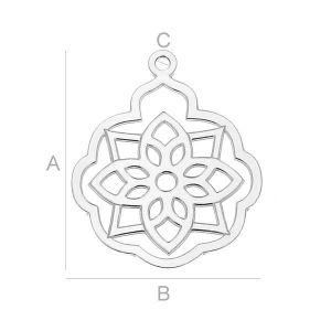 LK-0359 - Argint rosette
