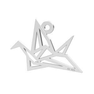 Origami pasăre pandantiv, LK-0364 - 0,50