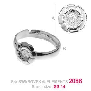 PPK 002 - Floare S-RING UNIVERSAL (2088 SS 14 F)