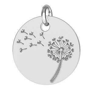 Argint păpădie pandantiv - LK-0480