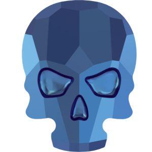 2856 MM 10,0X 7,5 CRYSTAL METALLIC BLUE F