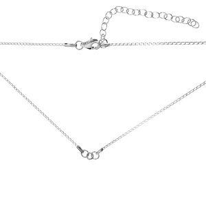 Baza de colier*argint 925*CHAIN 9 (PD 40 20+20 cm) 41 cm