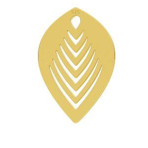 Frunze pandantiv, LK-0789 - 0,50