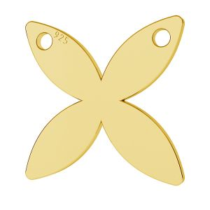 Fluture pandantiv, LK-0890 - 0,50
