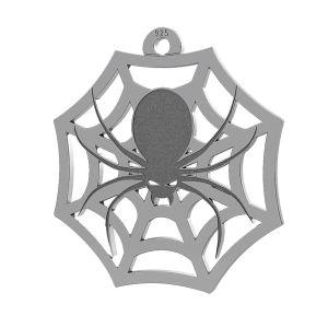 Păianjen halloween pandantiv, LK-1020 - 0,50