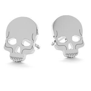 Craniu halloween cercei, LK-1023 - 0,50