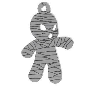 Mumie halloween pandantiv, LK-1018 - 0,50