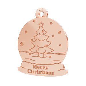 Pom de Crăciun pandantiv LK-1088 - 0,50