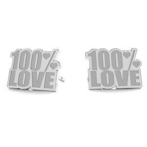 100% Love cercei LK-1193 - 0,50 - KLS
