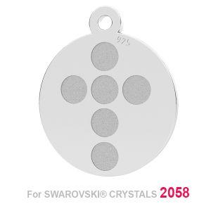 Cruce pandantiv (2058 SS 7) LK-1175 - 0,50 ver.1