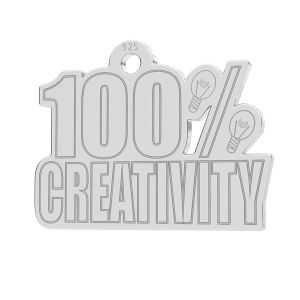 100% Creativity pandantiv, LK-1184 - 0,50