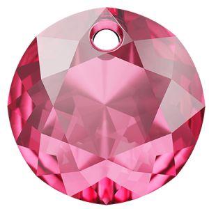 Classic Cut Pendant, Swarovski Crystals, 6430 MM 8,0 ROSE