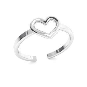 Inima inel, argint 925, ODL-00317