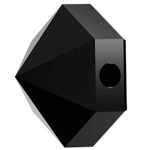 Hexagon Spike Bead, Swarovski Crystals, 5060 MM 5,5 JET