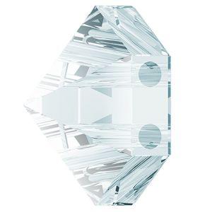Hexagon Spike Bead, Swarovski Crystals, 5060 MM 7,5 CRYSTAL BLUE SHADE