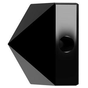 Square Spike Bead, Swarovski Crystals, 5061 MM 5,5 JET