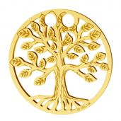 Copacul Vietii pandantiv, 14K aur, LKZ-01305 - 0,30