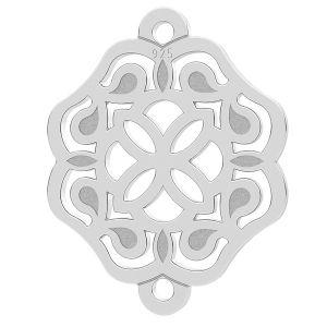 Rozetă pandantiv, argint 925, LK-1259 - 0,50