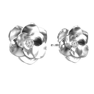 Trandafir cercei ODL-00041 KLS - CRYSTAL