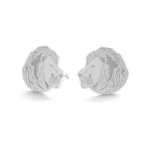 Leu cercei, sterling argint 925, LK-0895 KLS - 0,50