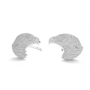 Vultur cercei, sterling argint 925, LK-0903 KLS - 0,50