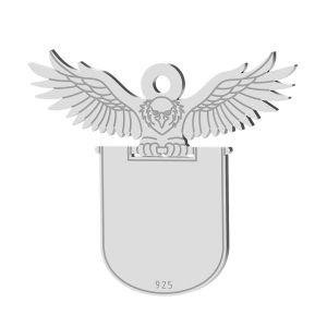Bec pandantiv, sterling argint 925, LK-1370 - 0,50