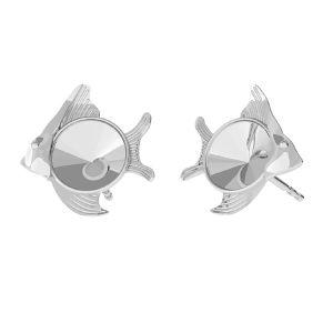 Peste cercei, argint 925, ODL-00361 KLS (1122 SS 29)