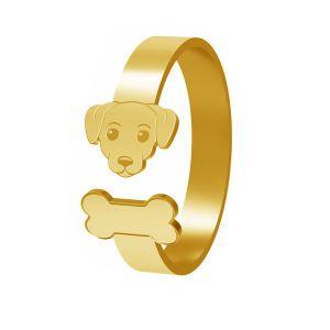 Câine inel, argint 925, LK-1403 - 0,50