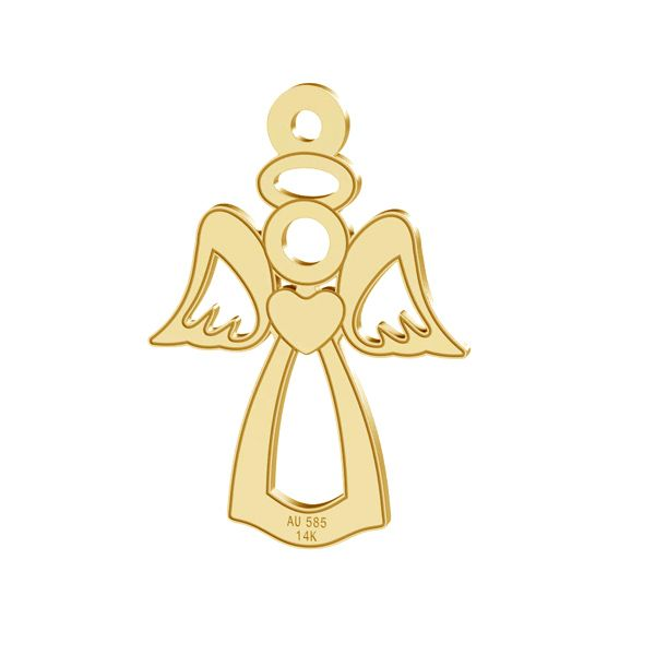 Inger pandantiv, 14K aur, LKZ-00332 - 0,30