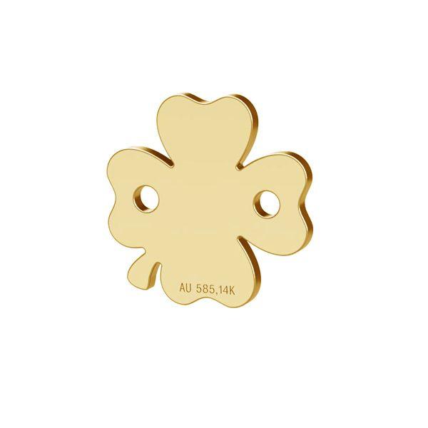 Pasăre pandantiv 14K aur LKZ-00943 - 0,30