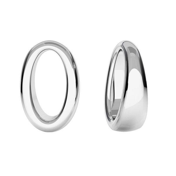 Kettlebell pandantiv, argint 925, ODL-00429