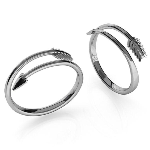 Sageata inel argint 925, ODL-00451
