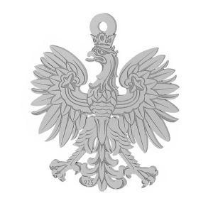 Vultur pandantiv sterling argint, LKM-2041