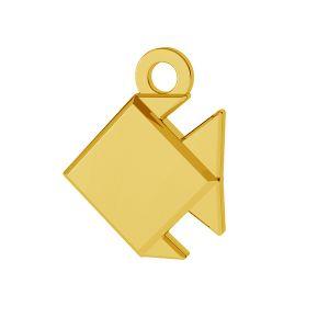 Origami peste pandantiv argint 925, ODL-00434