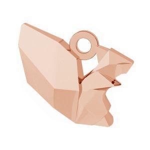 Origami veverită pandantiv argint 925, ODL-00444