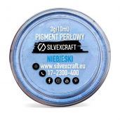 Pigment perlat - albastru, 3 g