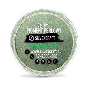 Pigment perlat - verde, 3 g