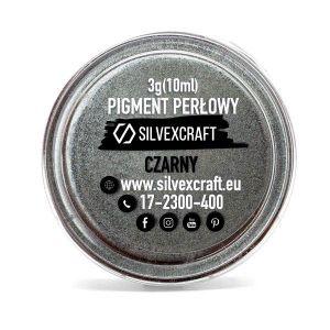 Pigment perlat - negru, 3 g
