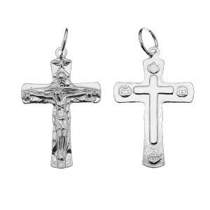Crucifix pandantiv, argint 925, ODL-00323