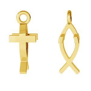 Crucifix pandantiv, argint 925, ODL-00471