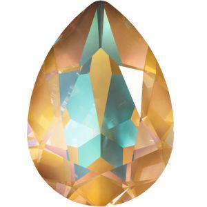 4320 MM 14,0X 10,0 CRYSTAL OCHRE_D, Pear Fancy Stone