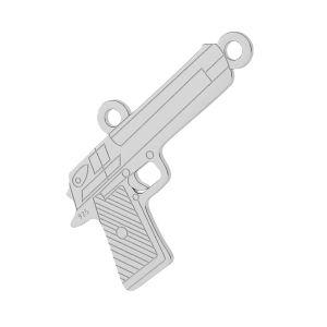 Armă pandantiv argint, LKM-2092 - 0,50