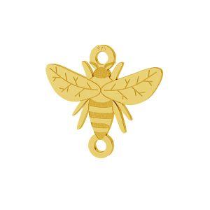 Albină pandantiv argint, LKM-2096 - 0,50
