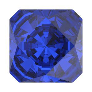 4499 MM 10,0 MAJESTIC BLUE F, Kaleidoscope Square Fancy Stone
