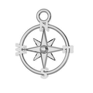 Busolă pandantiv argint, ODL-00465