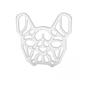 Buldog francez pandantiv argint, LK-1557 - 0,50