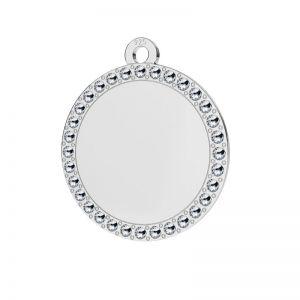 Rundă pandantiv argint, LKM-2133 - 0,80 ver.2